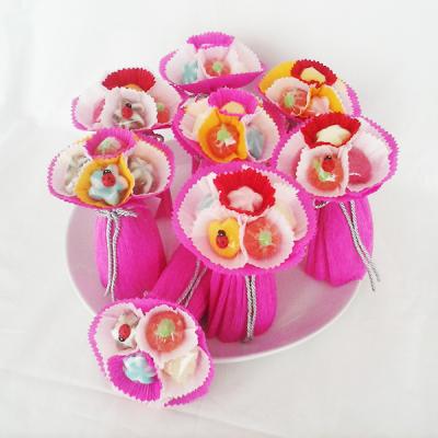 Mini Bouquets de Gomas para Festas