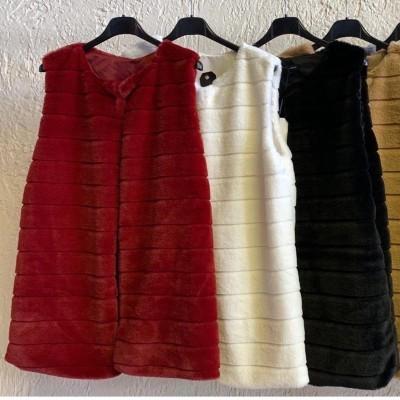 Coletes de pêlo curto em várias cores - A ESGOTAR