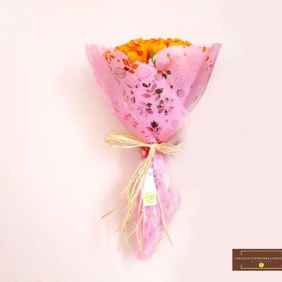 Bouquet de Tulipas com Mini Bombons