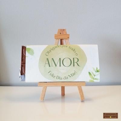 Chocolate Grande Amor de Mãe - Sabor Premium Texto personalizado