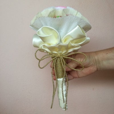 Mini Bouquet de Gomas para Noiva fazer jogo das solteiras!