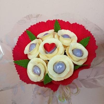 Ramo Bouquet de Amêndoas para Madrinhas ou Afilhadas