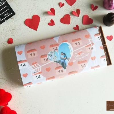 Chocolate Grande S. Valentim | Cupido do Amor - Personalizado com Fotografia