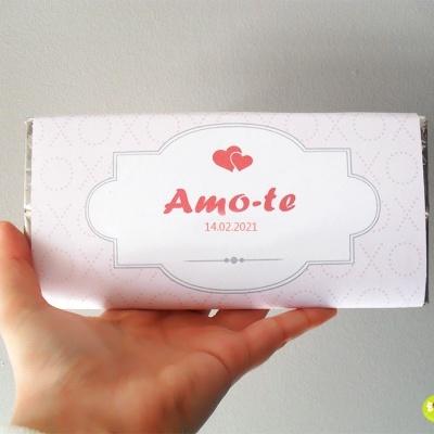 Chocolate Dia dos Namorados | Amo-te