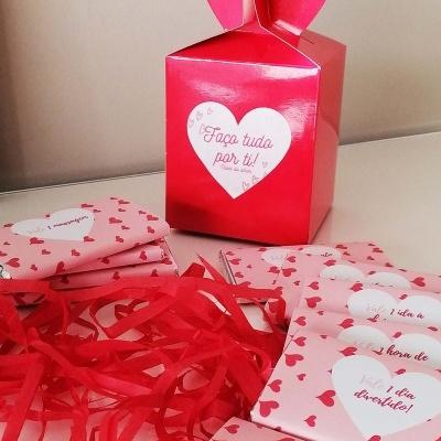 Vales do Amor - 12 chocolates para oferecer o melhor à sua cara-metade!