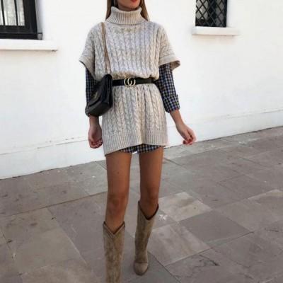 Camisolão de malha para mulheres com estilo! - A ESGOTAR