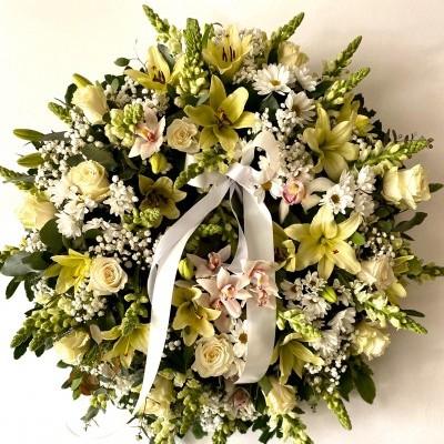 Coroa Orquídea