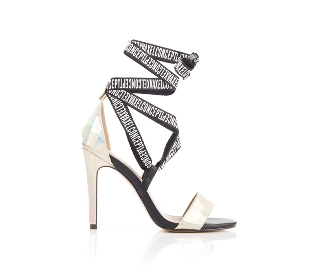Sandálias Douradas AXEL