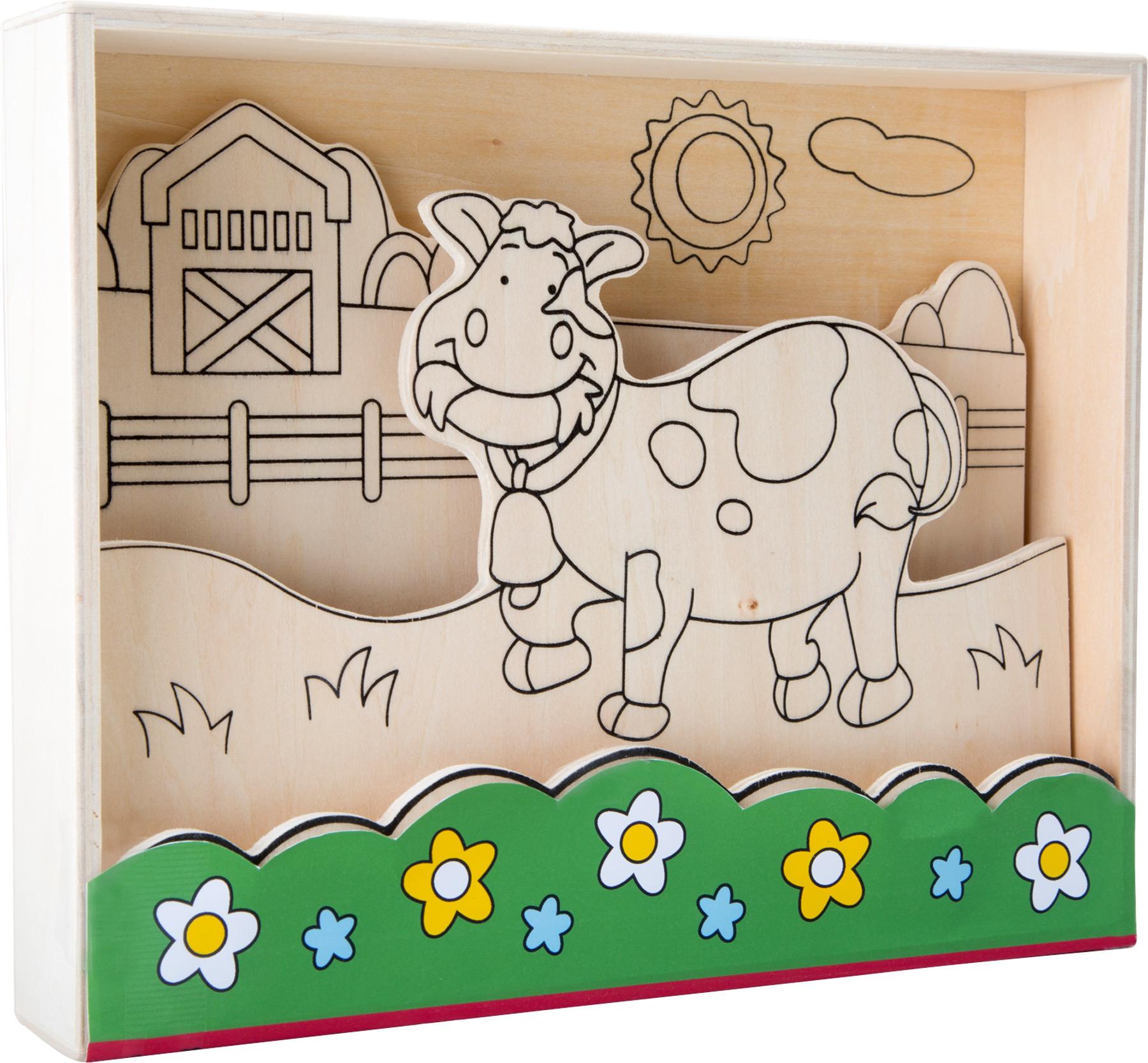 Pintura de madeira - a quinta
