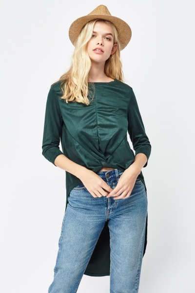 Blusa Comprida atrás