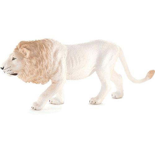 Leão Branco Macho - Figura animal