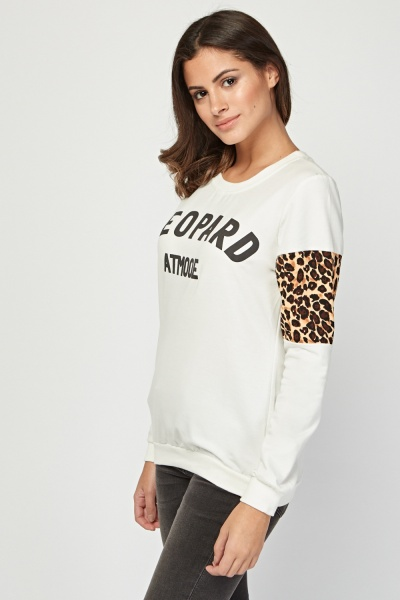 Camisola leopardo