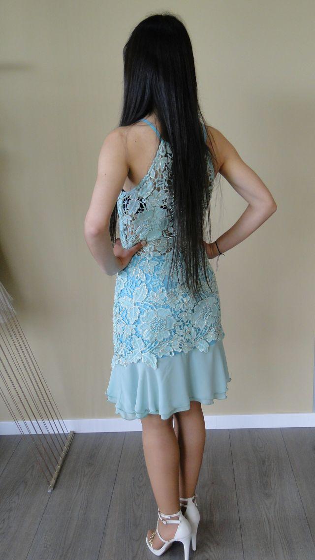 Vestido rendado SAHOCO