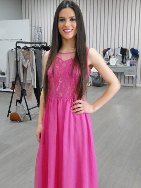 Revenda - Vestido comprido de festa TERIA YABAR
