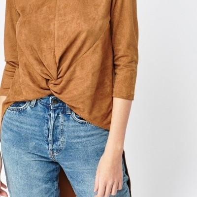 Revenda - Blusa Comprida atrás