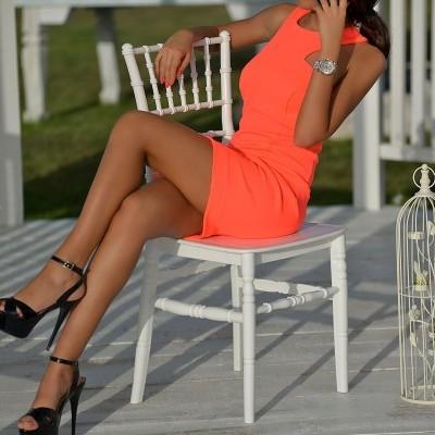 Vestido neon DPMODA