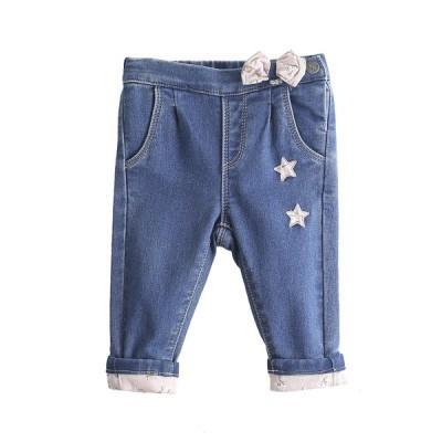 Calças Ganga com estrela Bebé