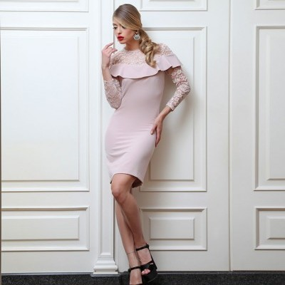 Vestido com renda MIVITE