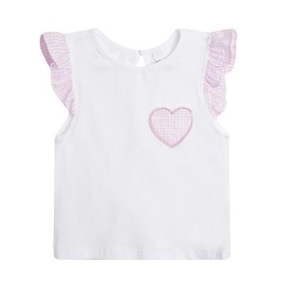 Revenda -  Conjunto Blusa e calções coração