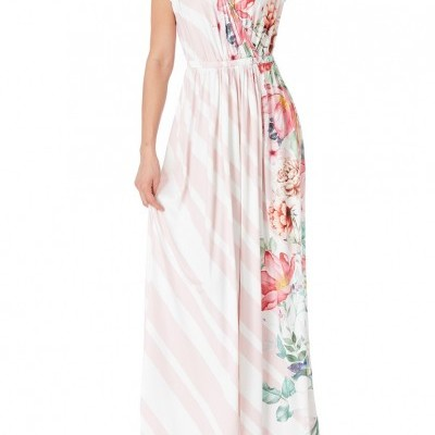 Revenda - Vestido comprido floral
