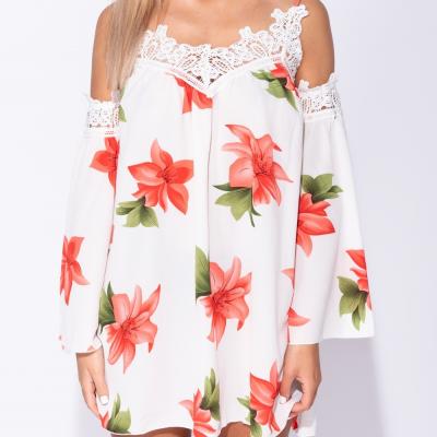 Vestido solto OLGA - branco