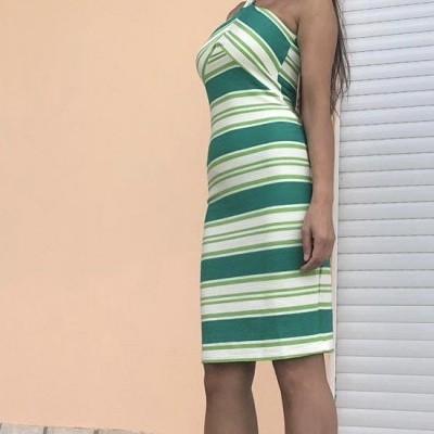 Vestido Riscas COLCCI