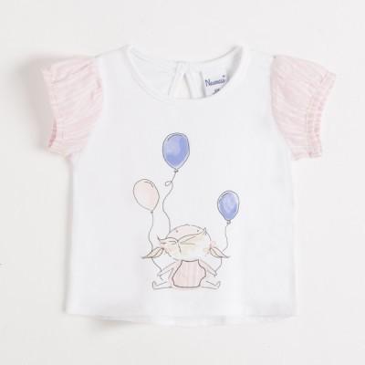 Revenda - Blusa ursinha balões