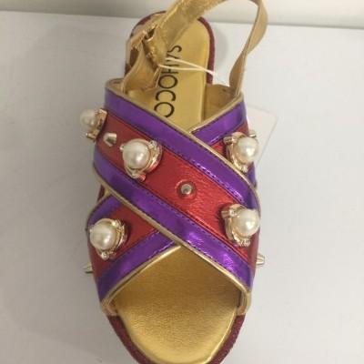 Sandálias com salto plataforma SAHOCO