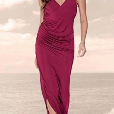 Vestido comprido LANÇA PERFUME