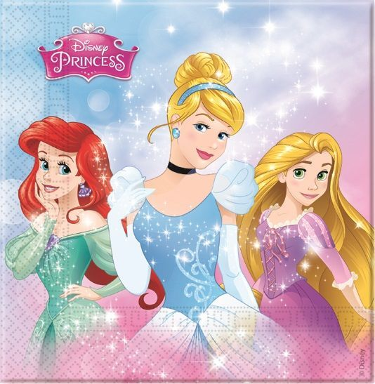 GUARDANAPOS PRINCESAS DISNEY DREAMING