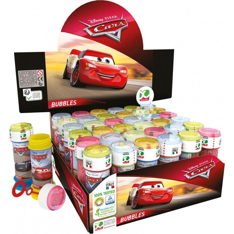 BOLAS DE SABÃO CARS