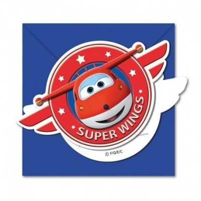 CONVITES SUPER WINGS