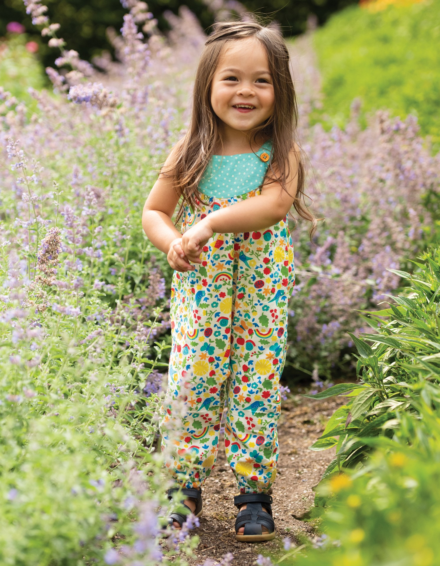 Frugi - Jardineiras Allotment Days