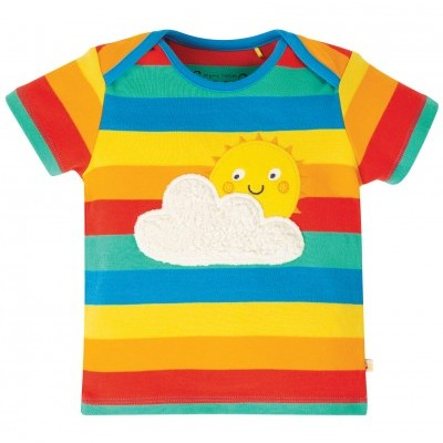 Frugi - T-shirt Rainbow