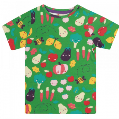 Piccalilly - T-shirt Grow your Own - Verde