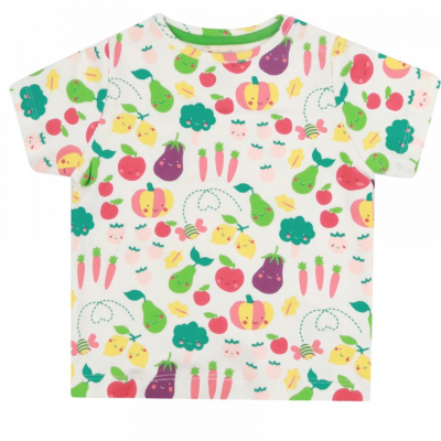 Piccalilly - T-shirt Grow your Own - Branca