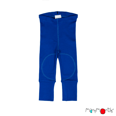 ManyMonths - Leggings Eco Unissexo - Atlantic Blue