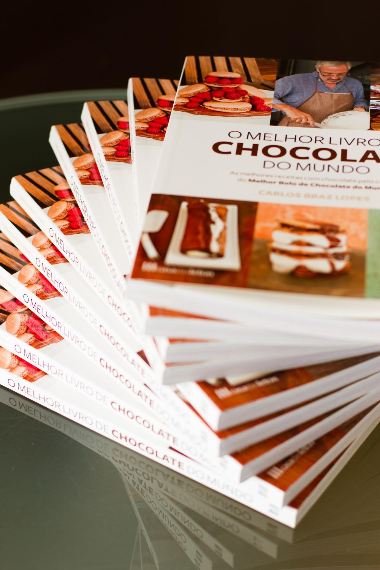 O Melhor Livro de Chocolate do Mundo by Carlos Braz Lopes