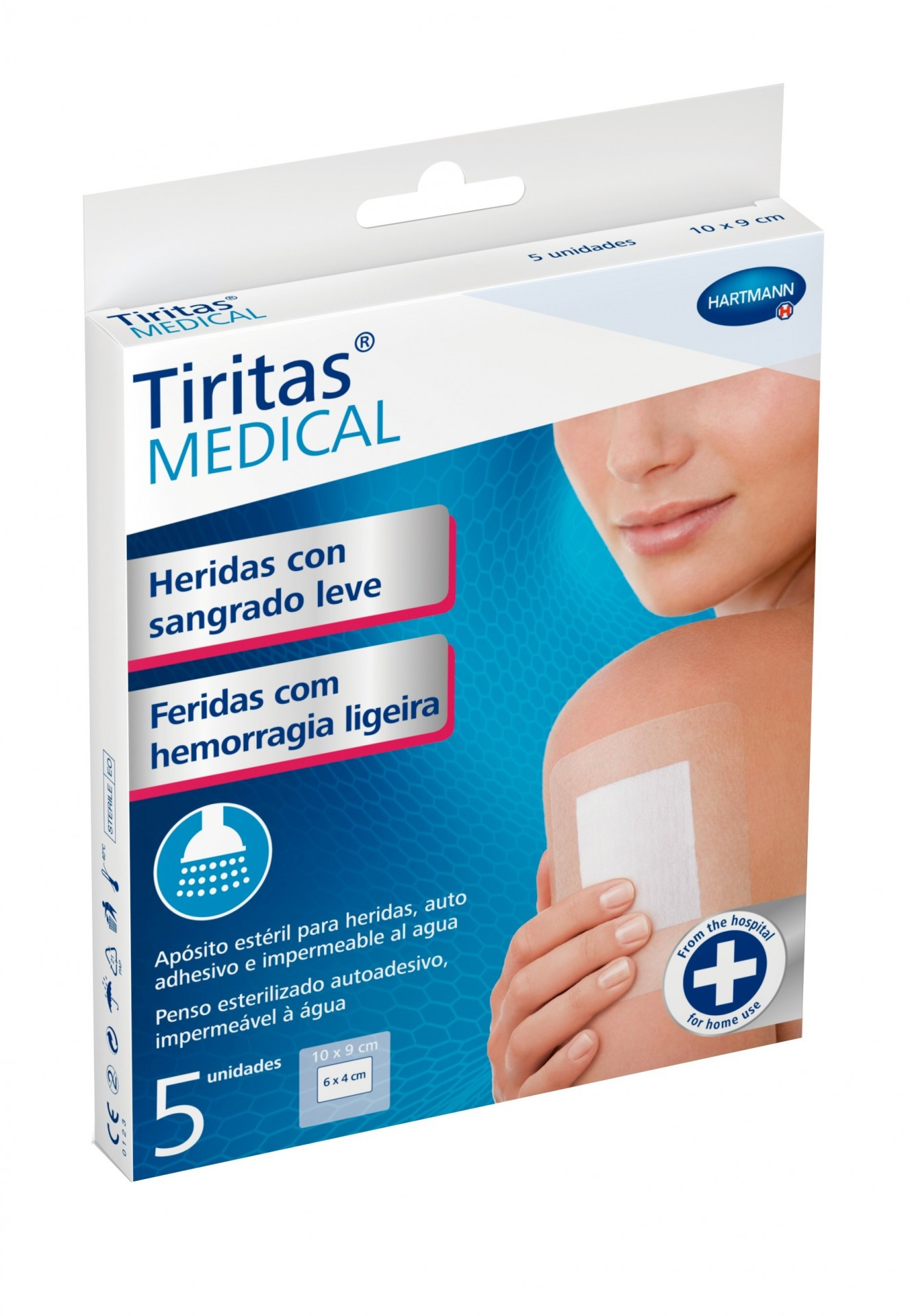 Tiritas® MEDICAL Hemorragias Ligeiras