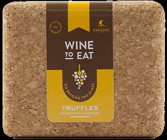 Trufas de vinho Moscatel de Favaios