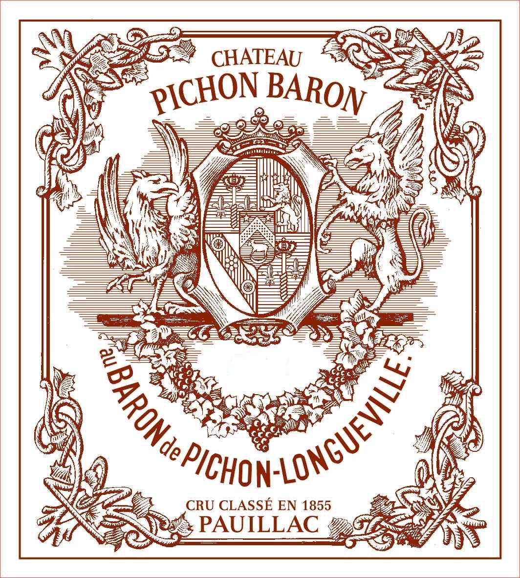 Châteaux Pichon-Longueville - Baron Pichon Longueville