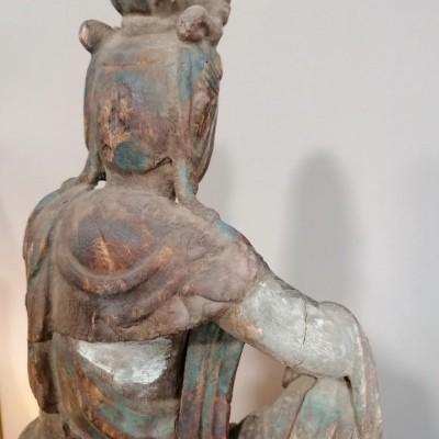 Escultura Deusa GUAN YAN