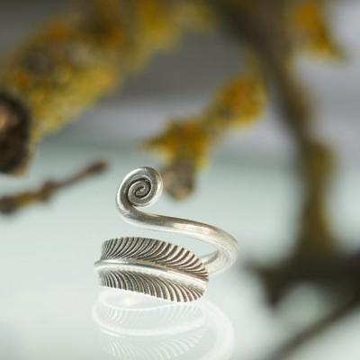 Anel Folha e Espiral