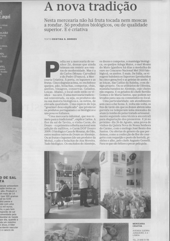 OUT LOOK · DIÁRIO ECONÓMICO · 16/08/2010