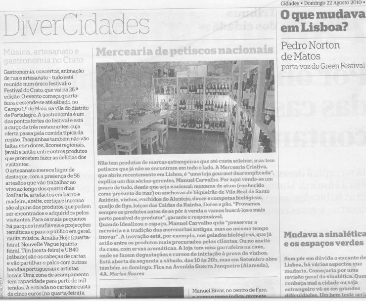 JORNAL PÚBLICO · 22/08/2010