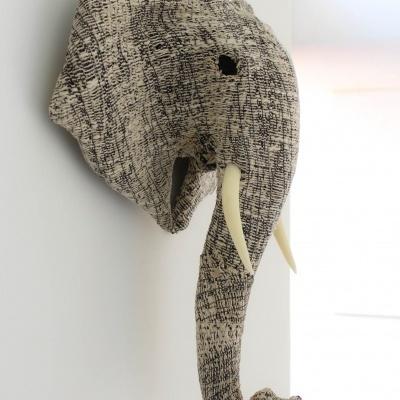 Elefante Patchwork Black&White