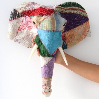 Elefante Patchwork Colorido II