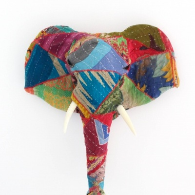 Elefante Patchwork Colorido I