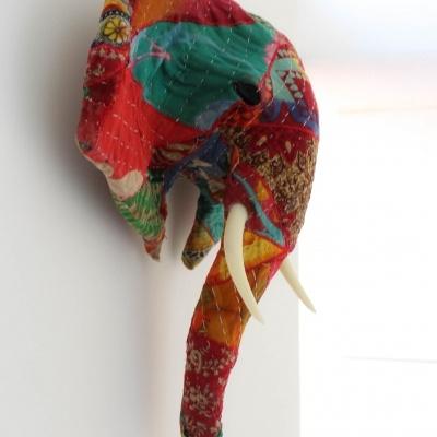 Elefante Patchwork Colorido VI