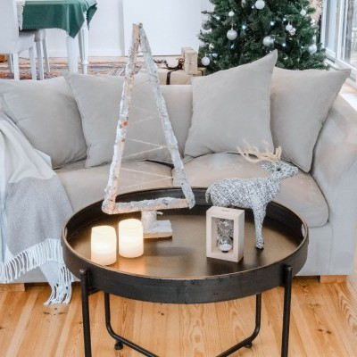 Árvore de madeira Navidad